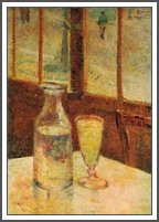 """Absinthe Glass"" by Van Gogh"