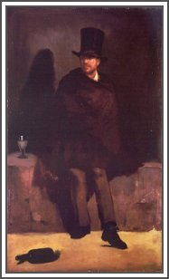 """Drinker"" by Manet"